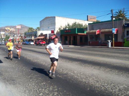 Mi primer carrera en julio de 2012